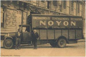 Historique Noyon déménagement Normandie Cherbourg